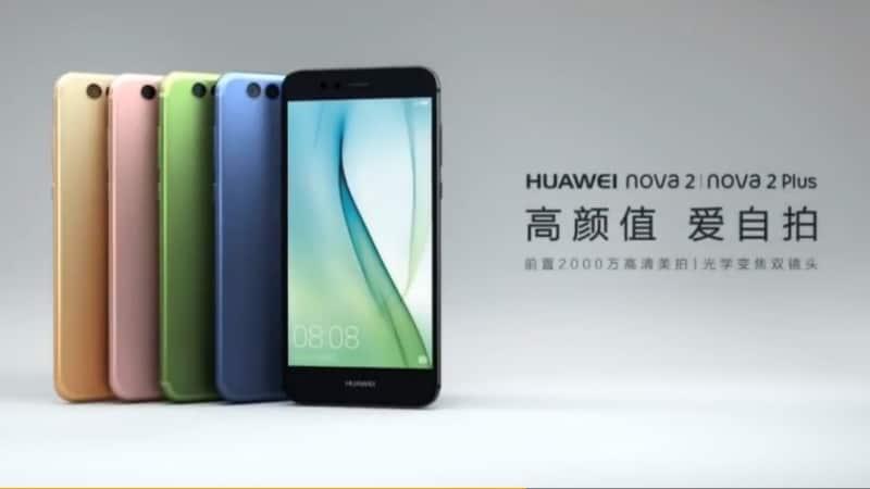 Huawei Nova 2, Nova 2 Plus With Dual Camera Setup, Android 7.0 Nougat Launched