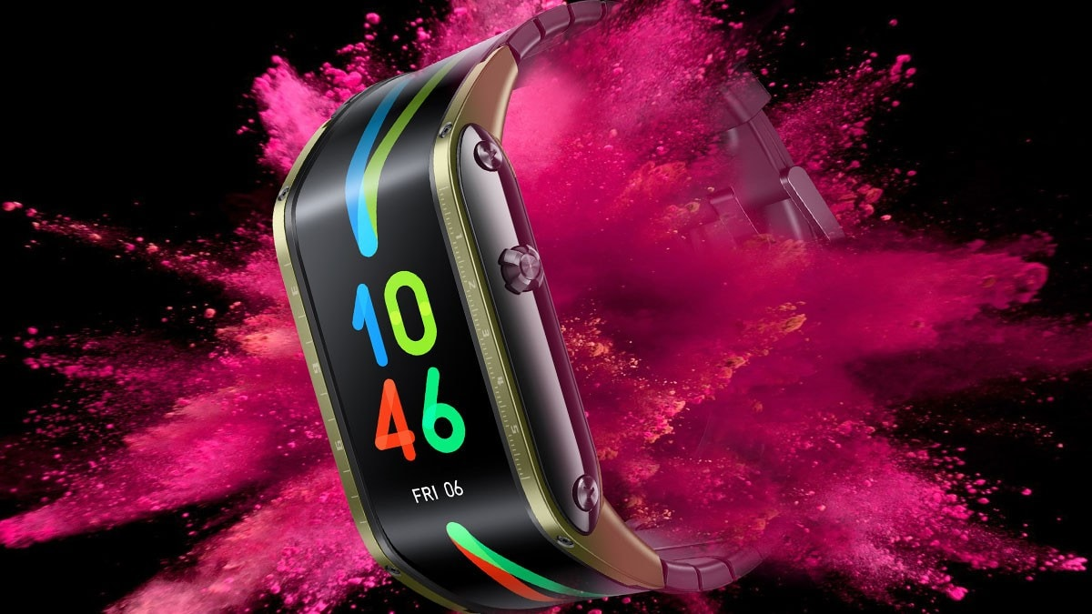 Nubia Watch With Flexible Display, eSIM Support Launched