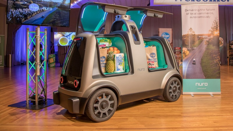 Self-Driving Delivery Startup Nuro Gets $949 Million SoftBank Investment