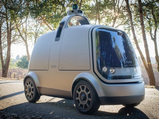 Robot Delivery Vans May Hit the Streets Before Self-Driving Cars