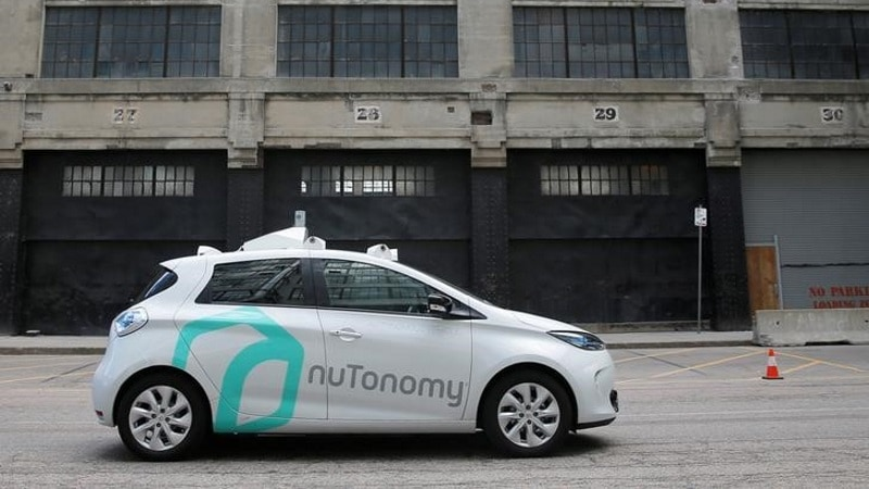 Delphi Buys nuTonomy for $450 Million to Further Self-Driving Tech Ambitions