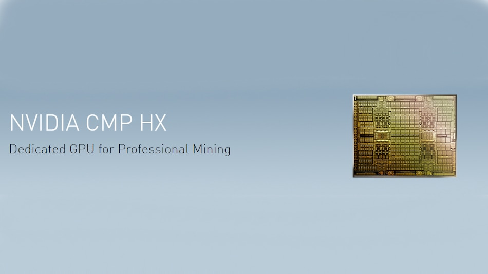 Nvidia CMP Dedicated Cryptocurrency Mining Processors Launched, GeForce GPUs Hash Rate Reduced by 50 Percent
