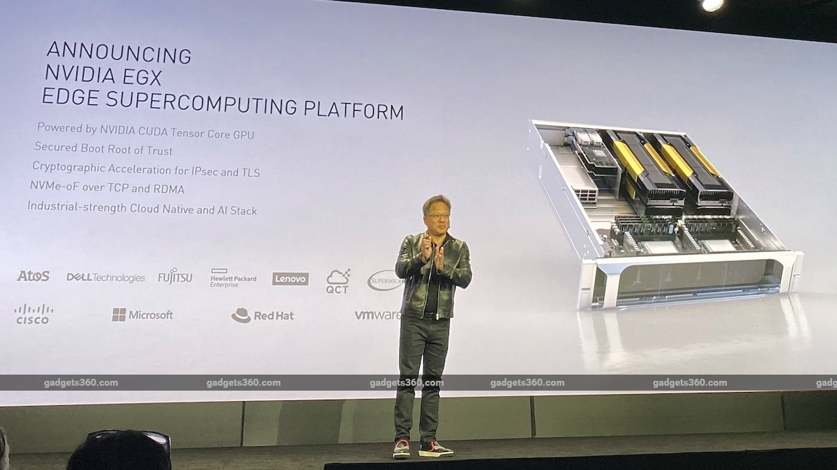 Nvidia's New EGX Supercomputing Platform Brings Power of Accelerated AI to the Edge