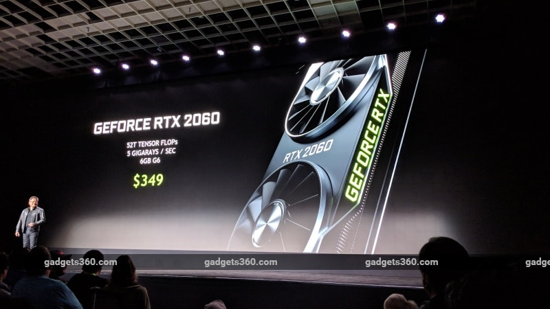 CES 2019: Nvidia GeForce RTX 2060, Mobile GeForce RTX Series Launched