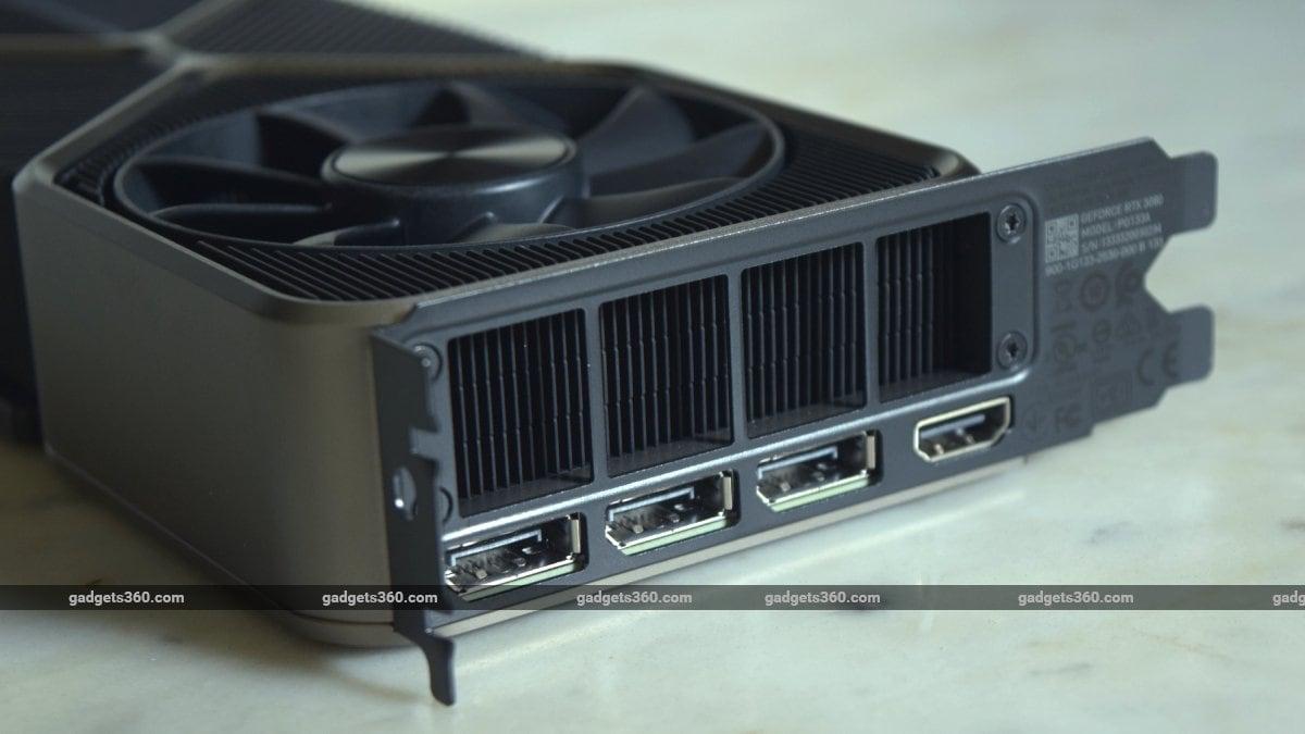 nvidia geforce rtx 3080 ports ndtv nvidia