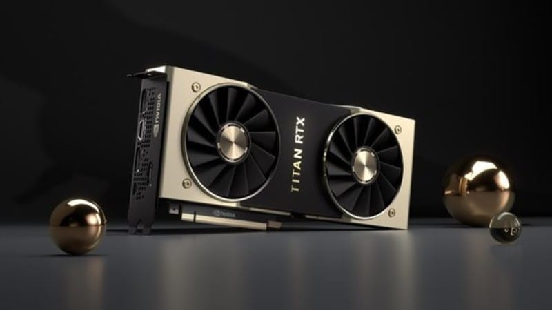Nvidia Titan RTX, Turing-Based GPU for AI Research, With 24GB GDDR6 RAM Launched in India at Rs. 2,24,000