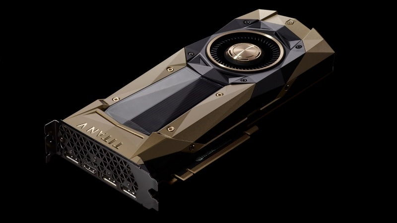 Nvidia Titan V Launched for AI and Deep Learning, First GPU Based on 'Volta' Architecture