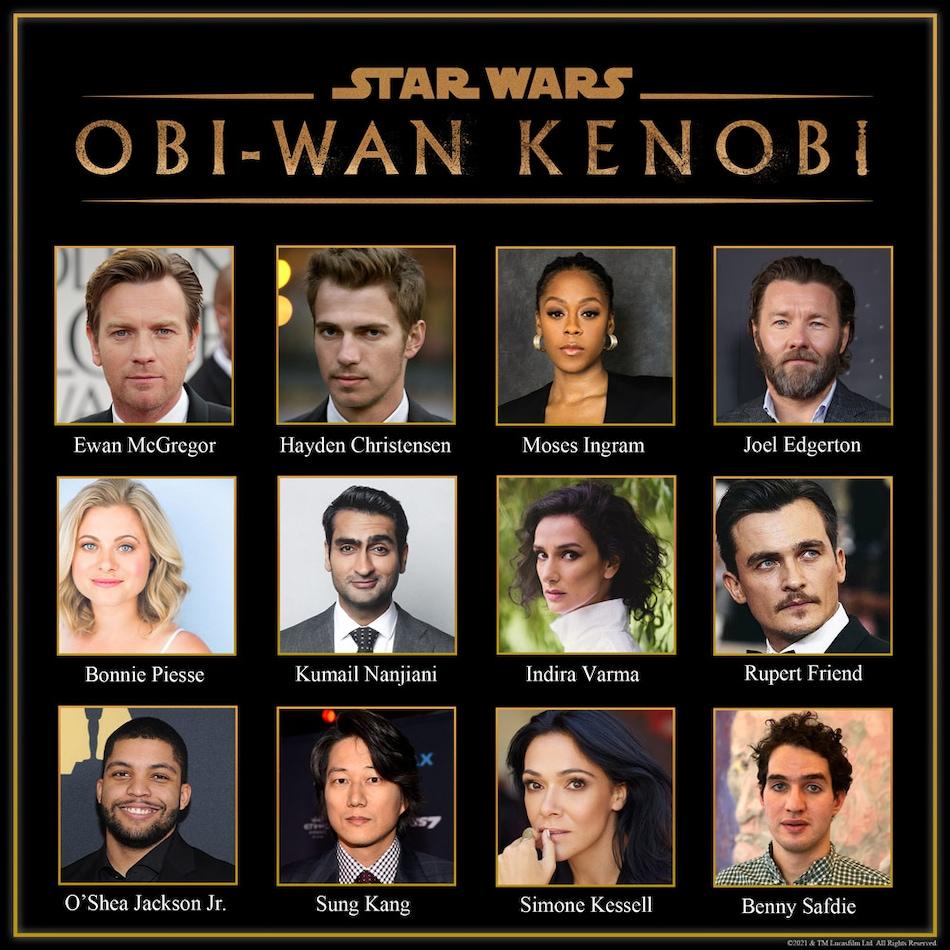 Obi-Wan Kenobi Casts 10 New, Including Kumail Nanjiani, Sung Kang, and Joel Edgerton