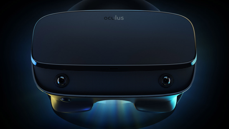 Oculus Rift S VR Headset With Higher-Resolution Display and Built-In Tracking Announced