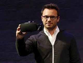 Oculus VR CEO Brendan Iribe Steps Down as Company Forms PC and Mobile VR Divisions