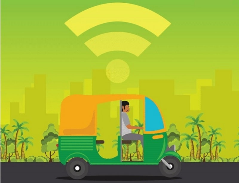Ola Extends Its 'Auto-Connect Wifi' Service to Auto-Rickshaws