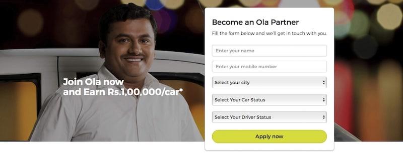 ola banner official Ola  India