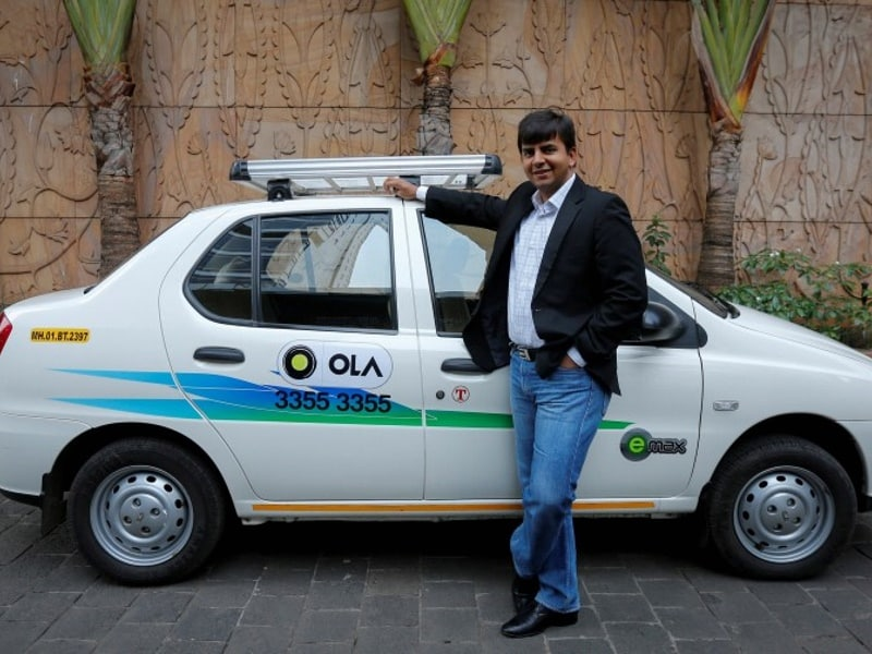 Uber's India Rival Raises $1.1 Billion From Tencent, SoftBank