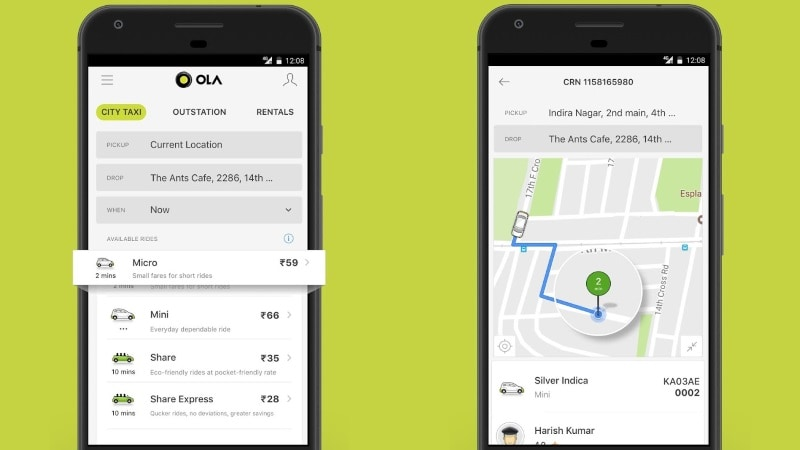 Ola Lite App Launched to Serve Tier II, Tier III Cities