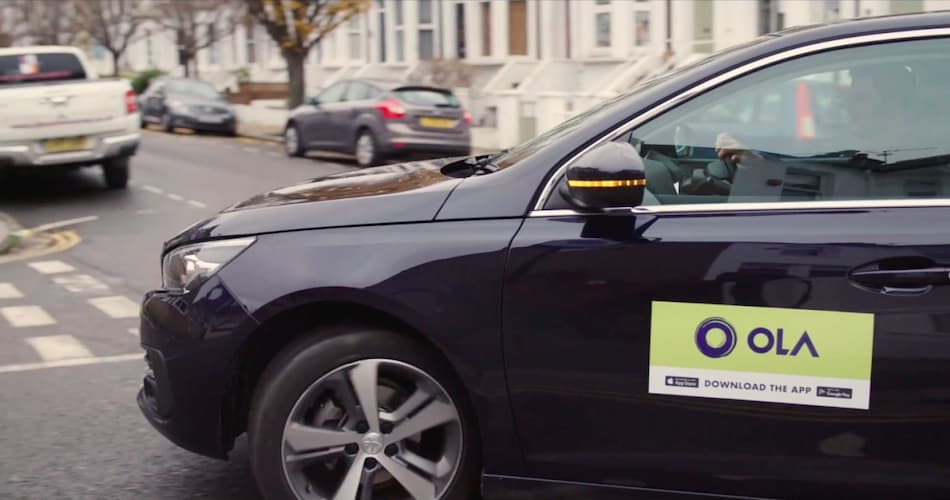 Ola Officially Launches Services in London, Assures Drivers Have Passed Spoken English Test