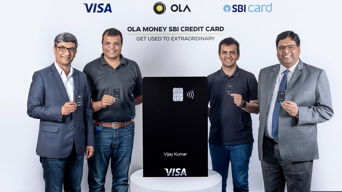 Ola Credit Card Launched in India in Partnership With SBI, With Up to 20 Percent Cashback