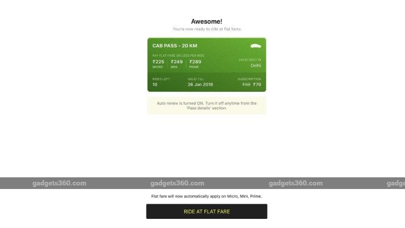 ola pass ss 1 gadgets 360 270117 120121 1491 Ola