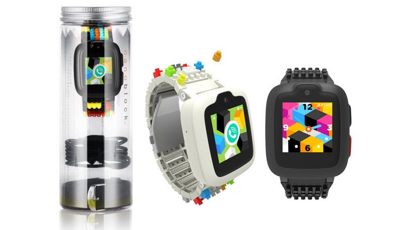 Omate x Nanoblock Smartwatch for Kids Unveiled With Enhanced Security Features