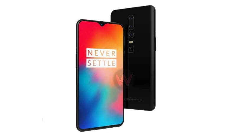 OnePlus 6T official poster leak reveals teardrop notch