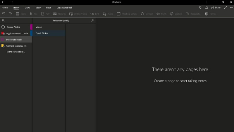 Microsoft OneNote Dark Mode Feature Spotted, Still in Early Development Stage
