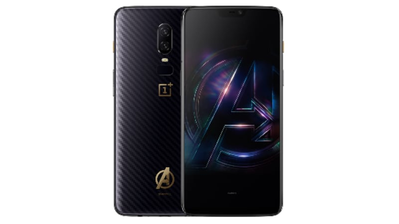 OnePlus 6 Marvel Avengers Limited Edition to Go on Sale Tomorrow: Price, Launch Offers, and More