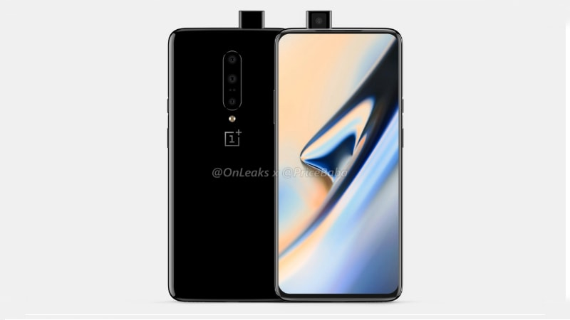 OnePlus 7 Leaked Renders Tip Pop-Up Selfie Camera, Triple Rear Camera Setup