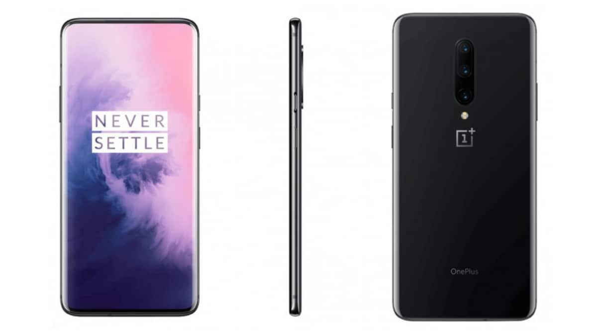 OnePlus 7 Pro leaks in Nebula Blue and Mirror Grey colors