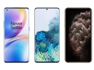 OnePlus 8 Pro vs Samsung Galaxy S20+ vs iPhone 11 Pro Max: Price, Specifications Compared