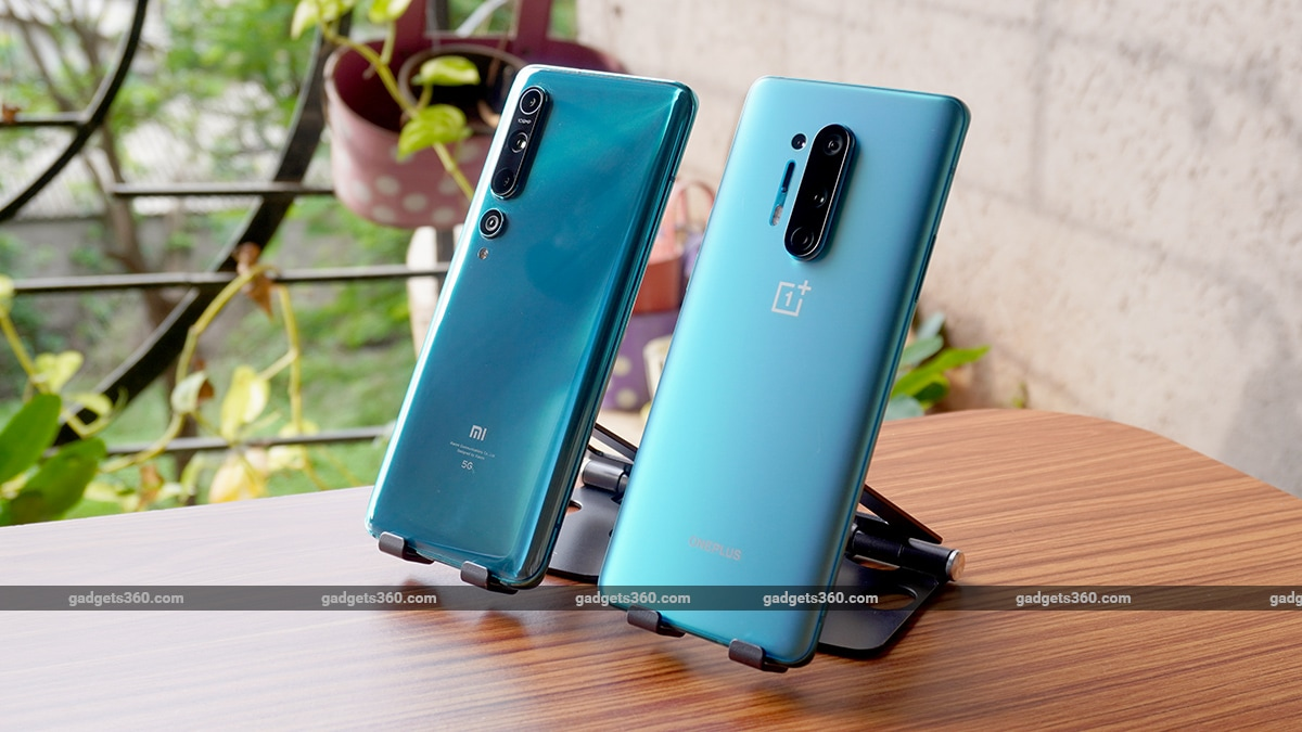 oneplus8pro vs mi105g comparison back stand ss