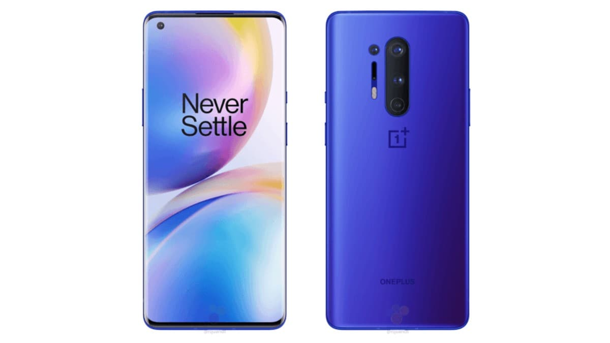 OnePlus 8 Pro Leaked Renders Tips Ultramarine Blue Colour Option Ahead of Launch