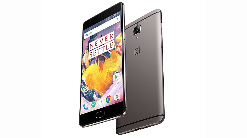 OnePlus 3T Available With Rs. 1,500 Cashback Till June 4