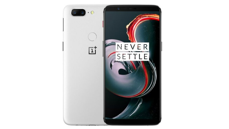 OnePlus 5T White Sandstone Variant Listed by Online Retailer Ahead of Anticipated Launch on Friday