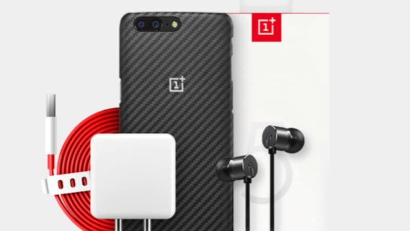 OnePlus 5 Accessories Now Available in India via OnePlus Store