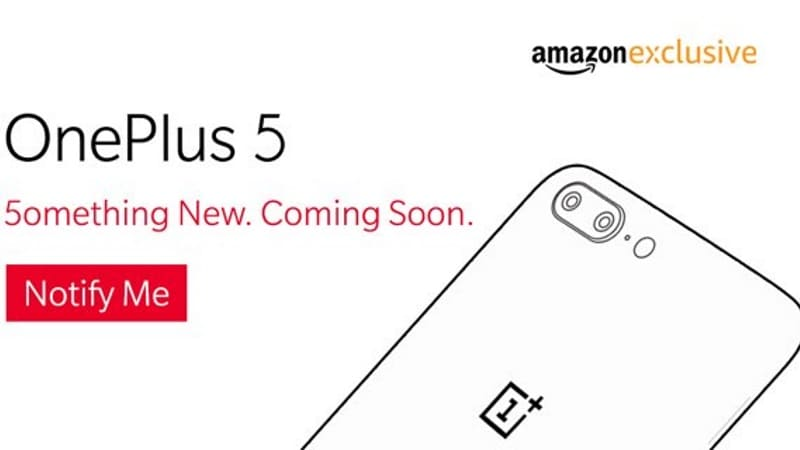 OnePlus 5 Gold Colour Variant Seemingly Confirmed by Amazon India Banner