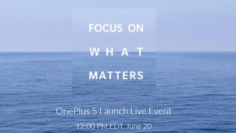 OnePlus 5 स्मार्टफोन 20 जून को होगा लॉन्च, भारत में करना होगा दो दिन और इंतज़ार