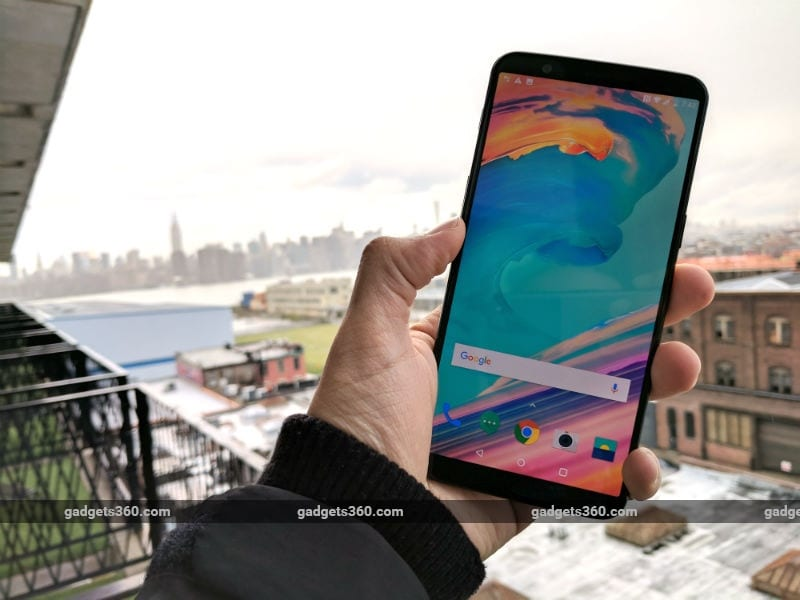 OnePlus 5T Charges Faster Than LG V30, iPhone X, and Google Pixel 2: Report
