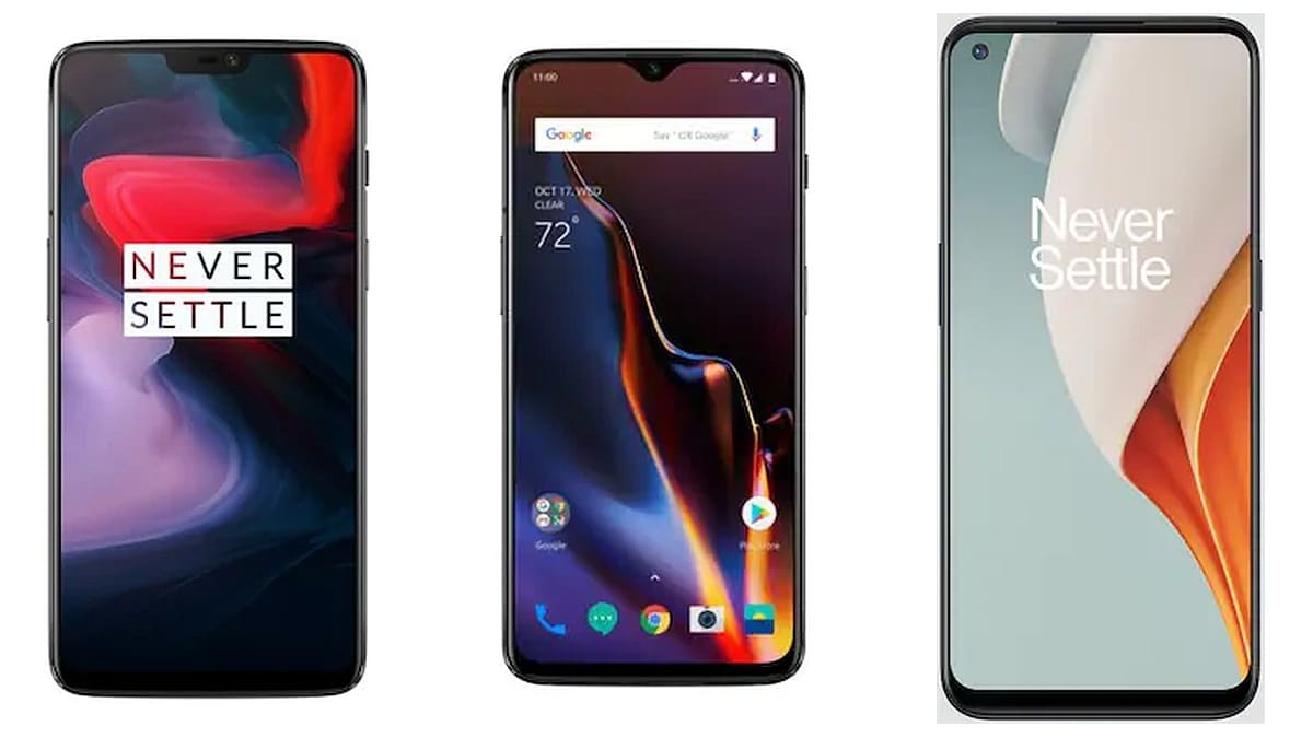 OnePlus 6, 6T, Nord N100 Get New Update With Latest Android Security Patch