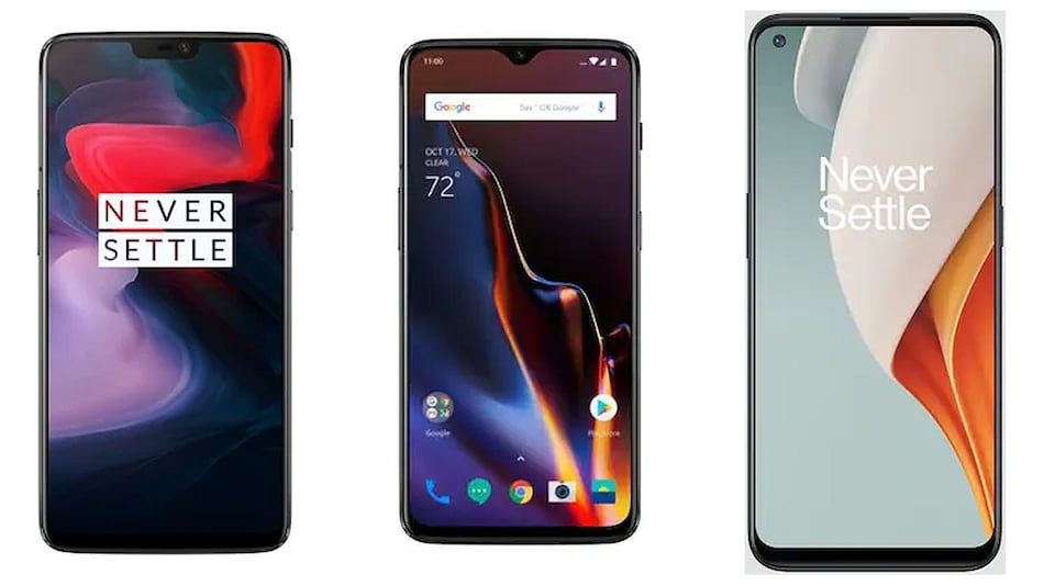 OnePlus 6, OnePlus 6T, OnePlus Nord N100 Update Brings May 2021 Android Security Patch, Bug Fixes