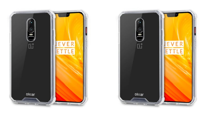 OnePlus 6 Leaked Case Renders Show Display Notch, Vertical Dual Rear Cameras