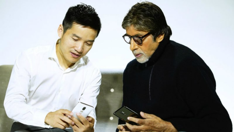 OnePlus 6 Colour Options Accidentally Revealed in Tweet by Amitabh Bachchan