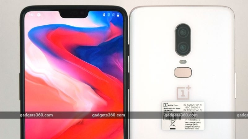OnePlus 6 Price in India Announced; OnePlus 6 Marvel Avengers Limited Edition Also Unveiled