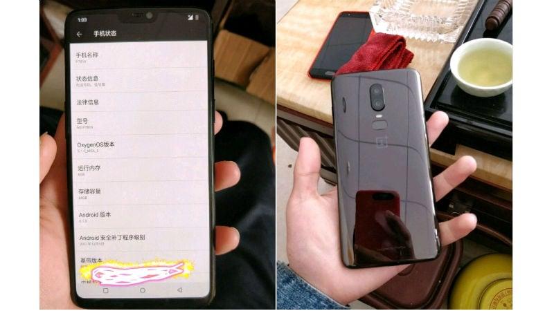 OnePlus 6 to sport 19:9 notch display, Snapdragon 845 SoC