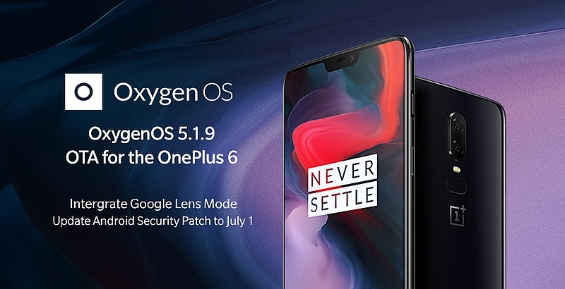 OnePlus 6 Gets Google Lens Mode, Improved Camera Quality With