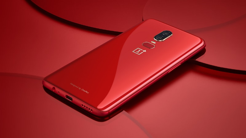OnePlus 6 Red Edition Launched at Rs. 39,999, Releasing in India on July 16