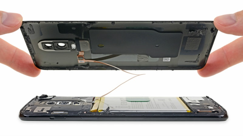OnePlus 6 Teardown by iFixit Gives It a Repairability Score of 5 out of 10