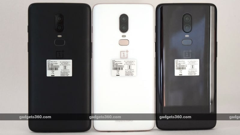 oneplus 6 three finishes back gadgets 360 oneplus