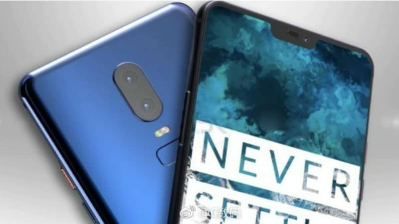 OnePlus 6 Leaked Renders Show Blue, White, and Black Colour Variants
