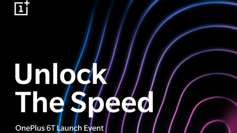 OnePlus 6T India Launch Set for October 30, Global Launch to Be Held the Same Day