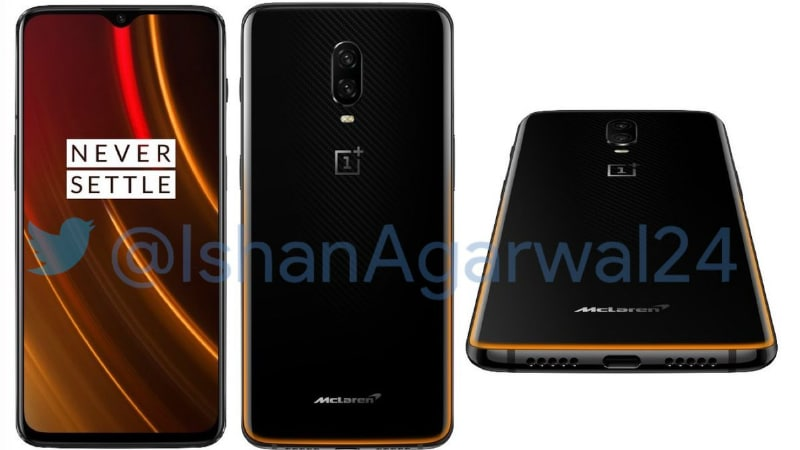 OnePlus 6T McLaren Edition Specifications, Design Leaked Ahead of December 12 Launch
