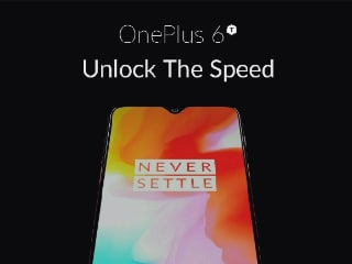 OnePlus 6T 'Official Poster' Leaked, Shows Waterdrop Notch Design